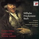 Wilhelm Friedemann Bach: Sinfonias / Suite in G minor / Concerto for Harpsichord in D Major - Charlotte Nediger / Tafelmusik / Jeanne Lamon