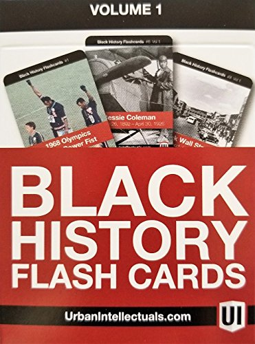 Black History Flash Cards
