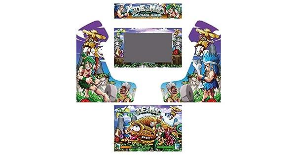 Vinilos máquina recreativa bartop arcade caveman ninja: Amazon.es ...
