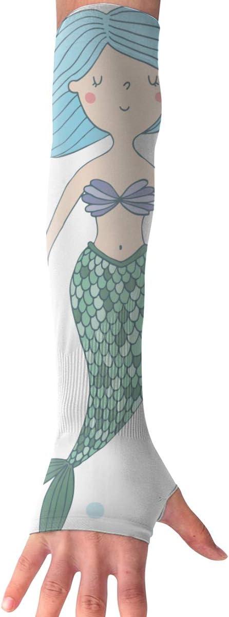MASDUIH Mermaid Gloves...