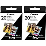 Canon 2 x 3 Inches Zink Photo Paper Multi-pack for Ivy Mobile Photo Printer (2)