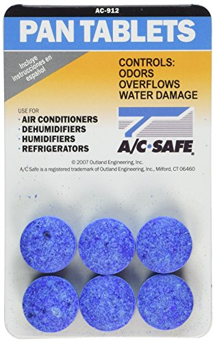 - Outland Air Conditioner Pan Cleaner Tablets