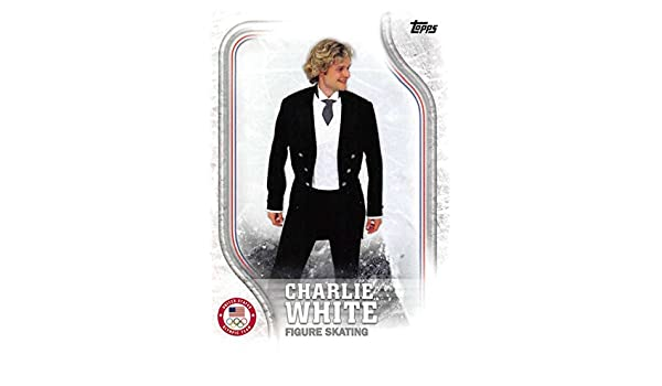 2014 Topps Winter Olympics Charlie White Relic Worn Memorabilia Or-cw Skating Sports Mem, Cards & Fan Shop Sports Trading Cards