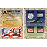 American Coin Treasures America Takes Flight Coin and Stamp Collection