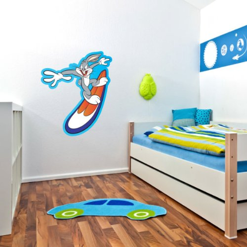 Surfing Bugs Bunny Wall Graphic Decal Sticker 25