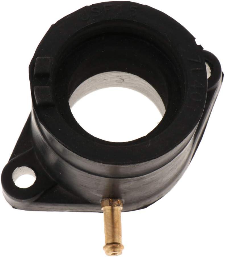 perfk 35MM Motorrad Vergaser Einlass Schnittstelle Carb Adapter Ansaugstutzen Vergaseradapter Vergaser-Einlassrohr