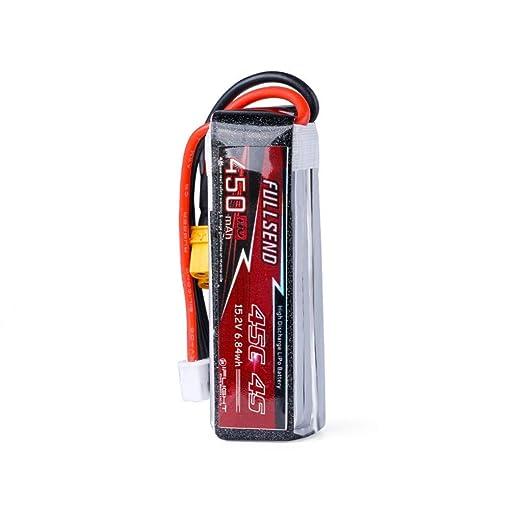 CUEYU - Dron con batería de Iones de Litio (450 mAh, HV 4S 15,2 V ...
