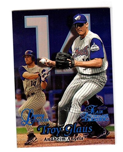 - 1999 Fleer Flair Showcase Legacy Collection Troy Glaus #S2R12L NM 68/99