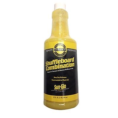 Sun Glo Shuffleboard Table Cleaner & Polish : Shuffleboard Accessories : Sports & Outdoors