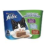 Felix Comida para Gato, Varios Sabores, 6 Pack