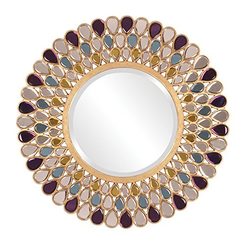 Howard Elliott 11111 Grace Round Mirror
