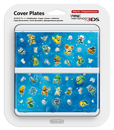 New Nintendo 3DS Cover Plates No.063 Pokemon