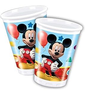 Disney K865507 Mickey Mouse-Casco, Coderas y Rodilleras para ...