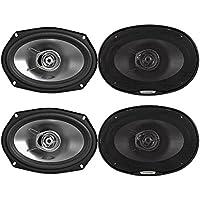 Alpine SXE-6925S 2-way 6x9 coaxial speaker Bundle