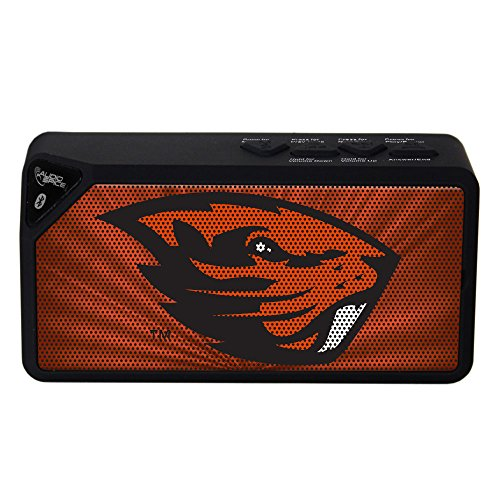 AudioSpice NCAA Oregon State Beavers BX-100 Bluetooth Speaker, Black