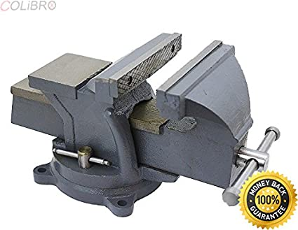 Colibrox 8 Bench Vise Clamp Tabletop Vises Swivel Locking Base