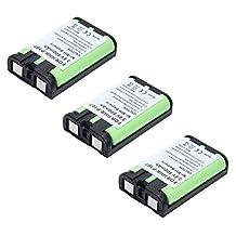 3x Masione 800mAh Cordless Home Phone Battery for Panasonic HHR-P107 HHRP107 HHR-P107A/1B Type 35