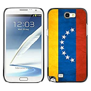 Shell-Star ( National Flag Series-Venezuela ) Snap On Hard Protective Case For Samsung Galaxy Note 2 II / N7100