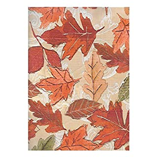 ... Vinyl Tablecloth 60 X 84 · Newbridge Falling Leaves Autumn And  Thanksgiving Print Vinyl Flannel Backed Tablecloth, Fall Season  Contemporary Leaf