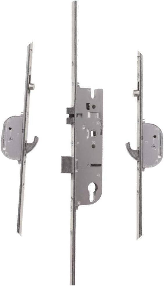 Maco Multipoint - Cerradura para puerta (2 ganchos, 2 levas, 35 mm ...