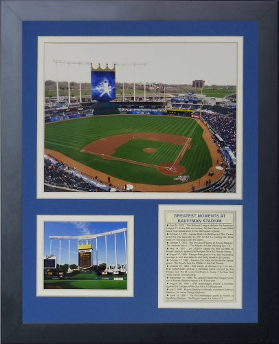 Legends Never Die Kauffman Stadium New Framed Photo Collage, 11x14-Inch
