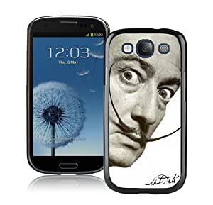 Hot Sale Samsung Galaxy S3 I9300 Case ,Beautiful Unique Designed Case With dali mustache Black Samsung Galaxy S3 I9300 Cover
