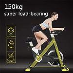 Allenamento-Bike-Professionale-Cyclette-Aerobico-Home-Trainer-Orologio-Elettronico-Multifunzionale-Rilevazione-Della-Frequenza-Cardiaca-Cambio-Di-Velocita-Continuo-CVT-Volano-Solido-Da-20-Kg