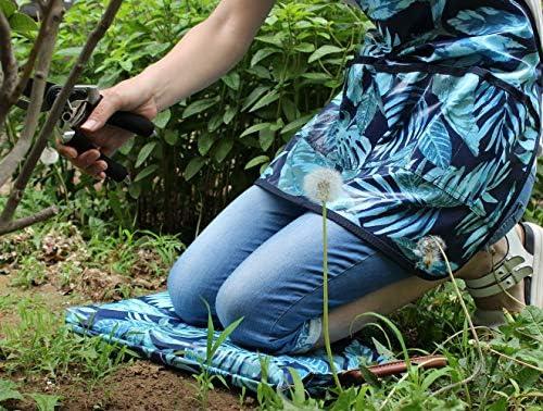 Extra große Garten-Knielunterlage mit Tragegriff und wasserdichter Abdeckung, dicke Komfort-Badematte, Kissen für Gartenarbeit MEHRWEG
