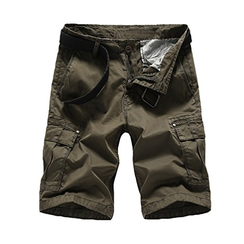 Lihaer Hombres Slim Pantalones Cortos De Tendencia De Moda Shorts Casuales De Playa De Verano WmUhZ