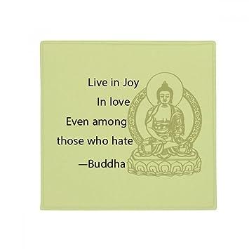 Diythinker Live In Joy Amour Citation De Bouddha Bouddhisme