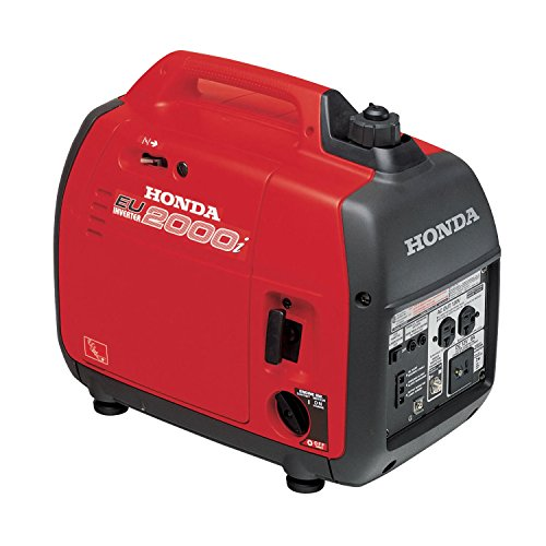 Honda EU2000I 2000 Watt Inverter Generator made our list of best quiet generators for camping and best small generators for camping