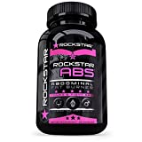 Rockstar Abs Targeted Fat Burner, Skinny Gal Weight Loss for Women, #1 Thermogenic Diet Pill and Fast Fat Burner, Carb Block & Appetite Suppressant, Weight Loss Pills, 60 Veggie Cap