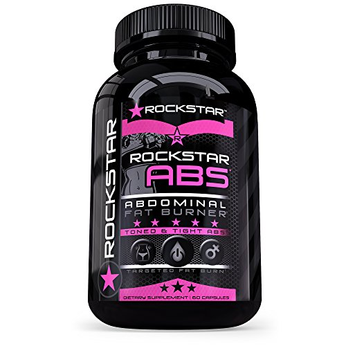 Rockstar Abs Targeted Fat Burner, Skinny Gal Weight Loss for Women, #1 Thermogenic Diet Pill and Fast Fat Burner, Carb Block & Appetite Suppressant, Weight Loss Pills, 60 Veggie (Fast Burners)