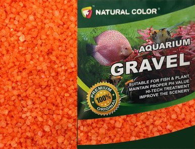 NATURAL COLOUR Couleur Naturelle Gravier pour Aquarium, XF20402B