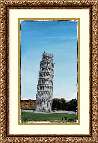 Framed Art Print 'World Landmark Italy' by Paul Gibson (Classic Paul Gibson Les Antique)