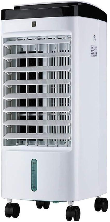 Refrigerador De Aire Evaporativo 3 En 1, Ventilador De Aire Acondicionado De Escritorio, Humidificador, Temporizador De 12 Horas, Tanque De Agua De 5 Litros, Purificador De Aire, Ventilador De Refrige: Amazon.es: Hogar