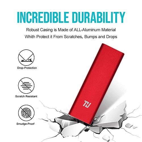 THU 128GB Extreme Portable External SSD C USB 3.0 Gen 1,Portable Solid State Drive Portable External Superfast Read/Write Speeds, External Storage for Latop, Desktop, Tablet, Android Phones by thu (Image #4)