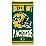 "NFL Green Bay Packers A1874515 Fiber Beach Towel, 9 lb/30"" x 60"""
