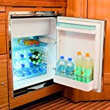 Dometic Coolmatic CR-1080E/F-S 2.8 Cu. Ft. 12/24V DC & 110/220V AC Built-In Refrigerator / Freezer
