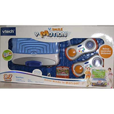 V.Smile V-Motion Active Learning System Giftset with 2 Wireless Controllers: Toys & Games