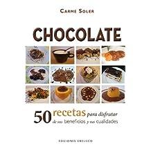 Chocolate 50 Recetas Para Disfrutar De Sus Beneficios