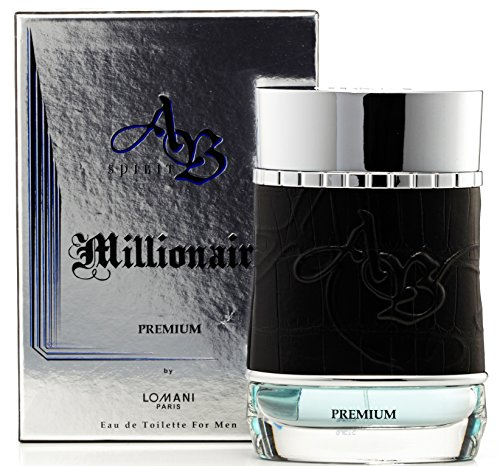 Ab Spirit Millionaire Premium Eau de Toilette Spray for Men by Lomani