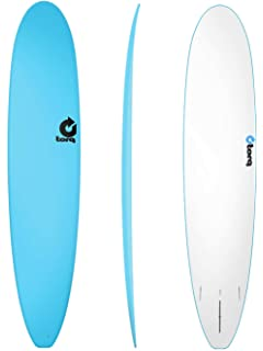 TORQ Tabla de Surf Softboard 9.0 Malibu Longboard Amarillo Soft Top Onda Jinete Deck