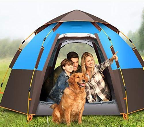 Rnalley Tienda Al Aire Libre 2-4 Personas Completamente Auto-Conducción Beach Plegable Doble Impermeable Camping