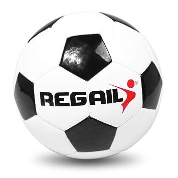 Walmeck- Balón de fútbol Oficial de tamaño 4 Balón de fútbol de PU ...