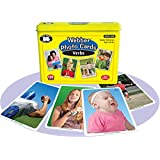 Super Duper Publications Webber Verbs Photo Flash Cards 2nd Edition Educational Learning Toy for Kids