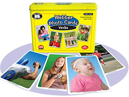 Super Action Card - Super Duper Publications Webber Verbs Photo Flash Cards 2nd Edition Educational Learning Toy for Kids
