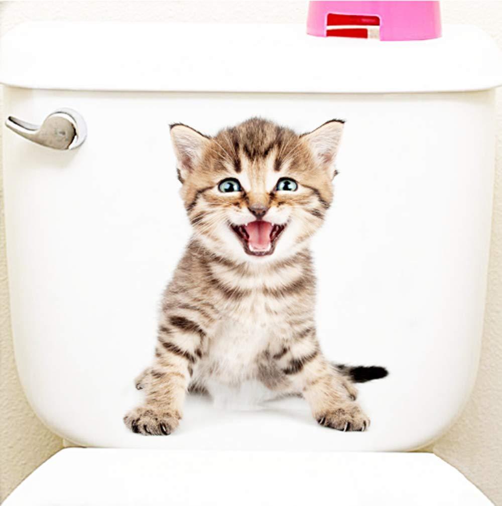 Amazon.com: 5 pegatinas 3D para pared de gatos y perros ...