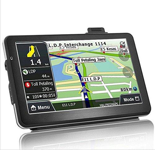 7'' Car Truck GPS Navigation Sat Nav 8GB UK EU AU USA Canada Maps MP4 Player FM
