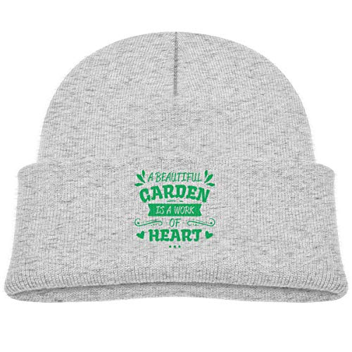 Fzjy Wnx A Beautiful Garden is A Work of Heart Infant Caps Knit ()